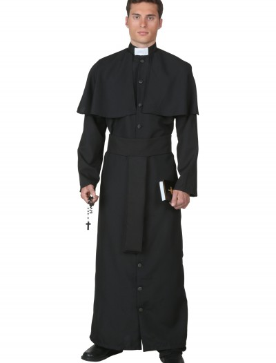Plus Size Deluxe Priest Costume buy now