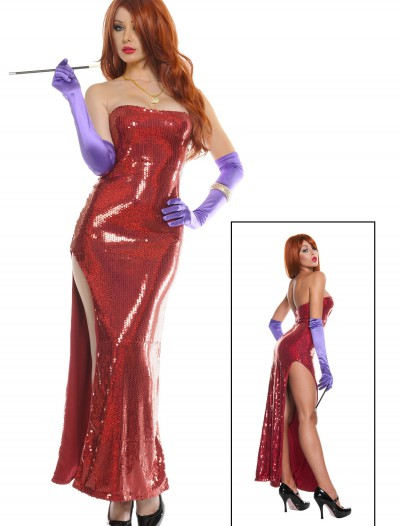 Plus Size Exclusive Deluxe Sequin Hollywood Singer Costume buy now
