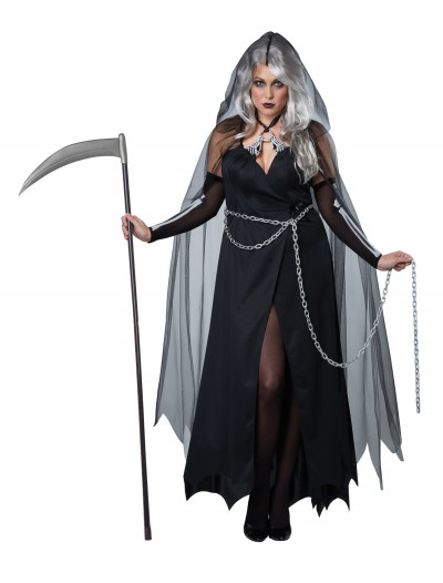Women's Plus Size Lady Reaper Costume buy now