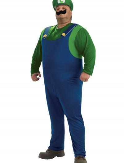 Plus Size Luigi Costume buy now