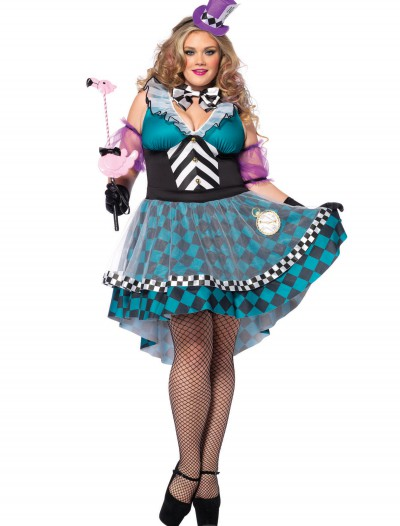 Plus Size Manic Mad Hatter Costume buy now