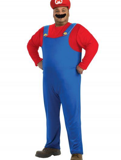 Plus Size Mario Costume buy now