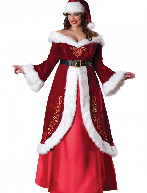 Plus Size Mrs. St. Nick Costume buy now