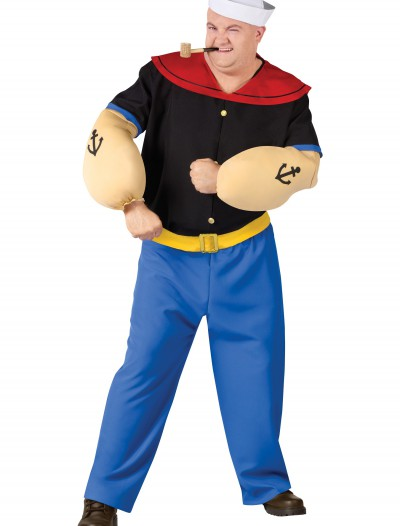 Plus Size Popeye Costume buy now