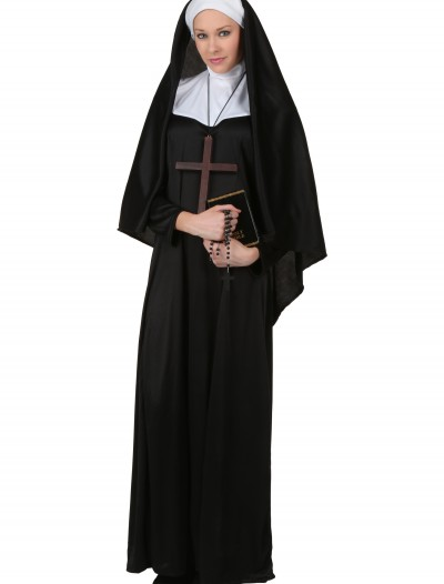 Plus Size Traditional Nun Costume buy now