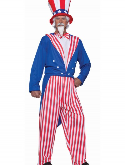 Plus Size Uncle Sam Costume buy now