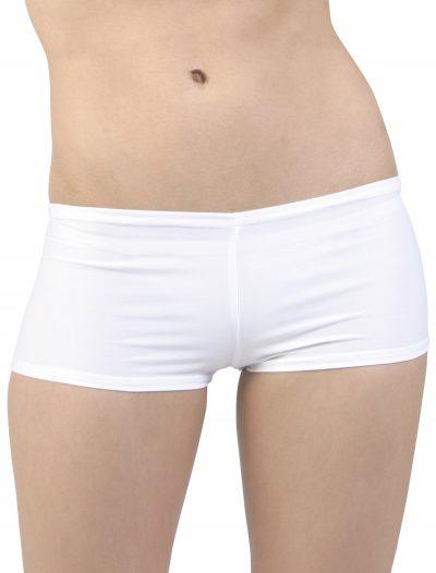 Plus Size White Hot Pants buy now
