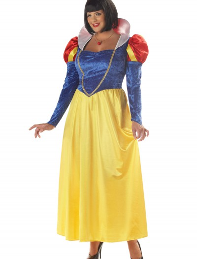 Plus Size Womens Snow White Costume buy now