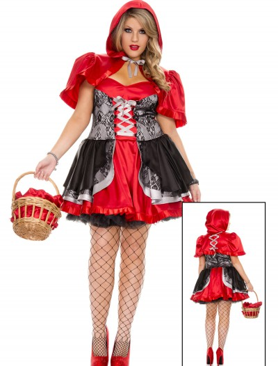 Plus Size Women's Fiery Lil' Red Costume buy now