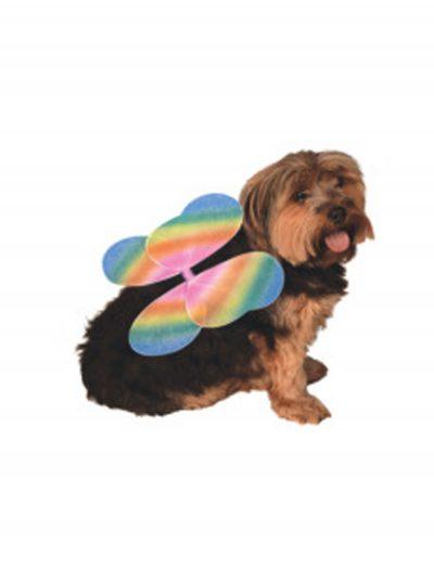Rainbow Fairy Wings Pet Costume buy now