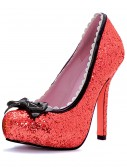 Red Glitter High Heels buy now