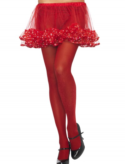 Red / Red Sparkle Tights buy now