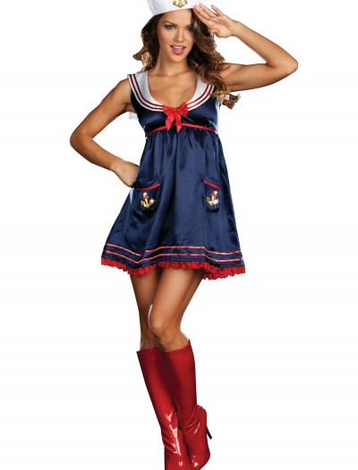Sexy Blue Sailor Girl Costume buy now