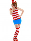 Sexy Waldo Dress Costume buy now