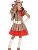 Sock Monkey Girl Costume buy now