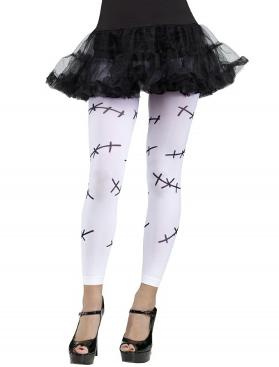 Stitched Footless Tights White buy now