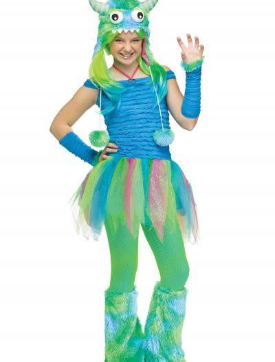 Teen Blue Beastie Monster Costume buy now