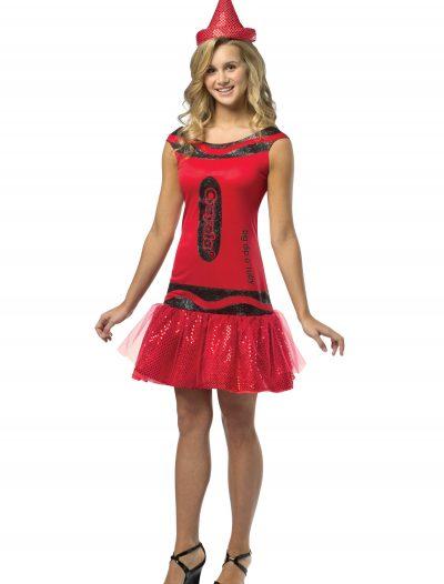 Teen Crayola Ruby Glitz Dress buy now