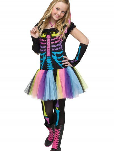 Teen Funky Punky Bones Costume buy now