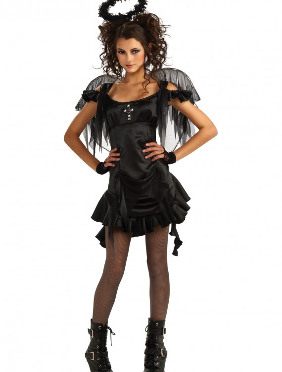 Teen Gothic Angel Costume buy now