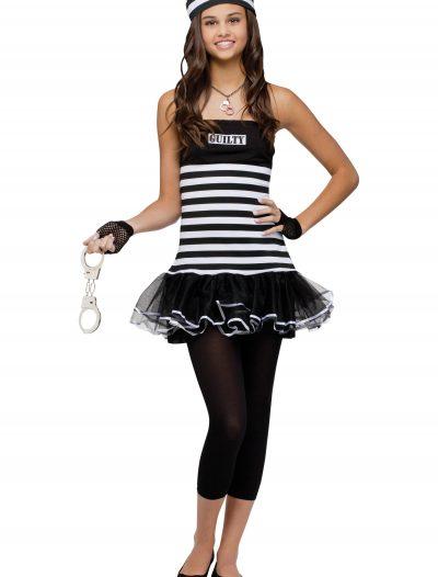 Teen Guilty Prisoner Costume buy now