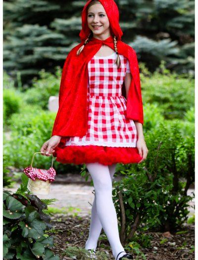 Teen Red Riding Hood Tutu Costume buy now