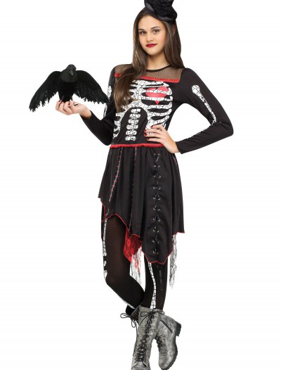 Teen Sassy Skelegirl Costume buy now