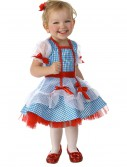 Child Wizard of Oz Dorothy Glitter Costume buy now