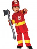 Toddler Firefighter Costume buy now