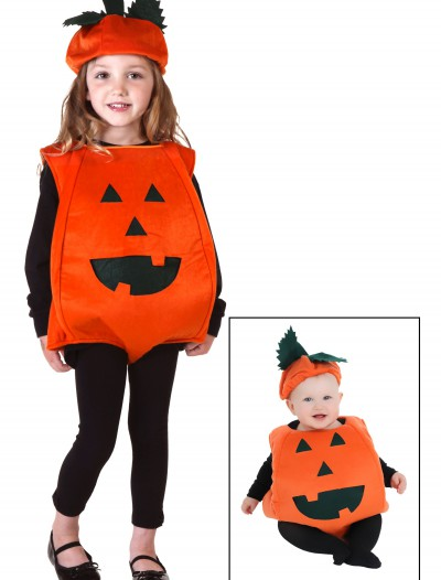 Toddler Orange Pumpkin Costume buy now