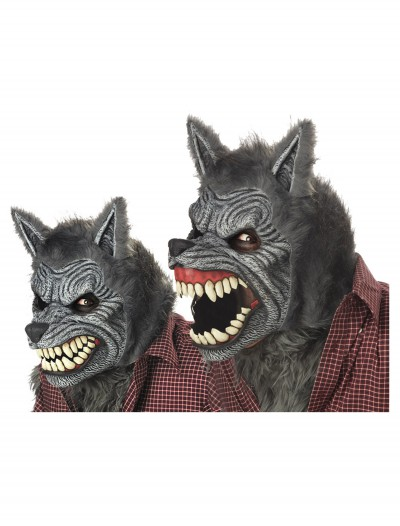 Grey Werewolf Ani-Motion Mask buy now