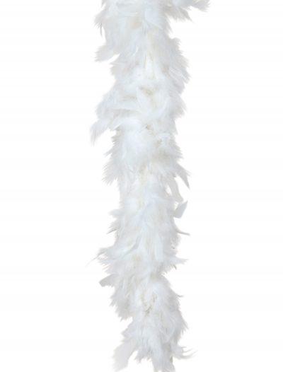 White 80 Gram Feather Boa buy now
