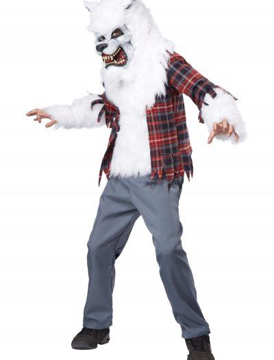 Child White Werewolf Costume buy now