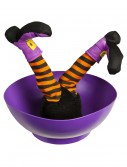 Witch Candy Bowl w/ Sound and Kicking Legs buy now