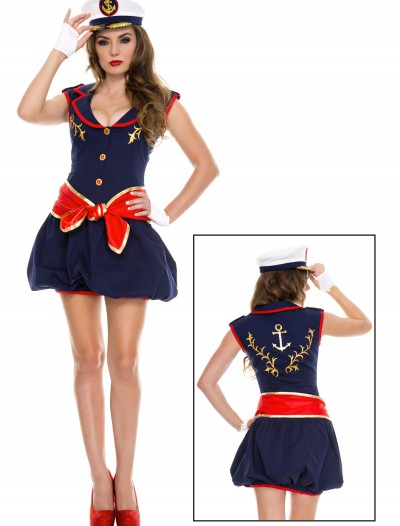 Women's Captivating Captain Costume buy now