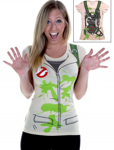Womens Costume Ghostbusters T-Shirt buy now