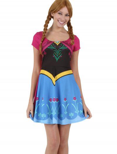 Womens I am Anna Frozen Costume Dress buy now