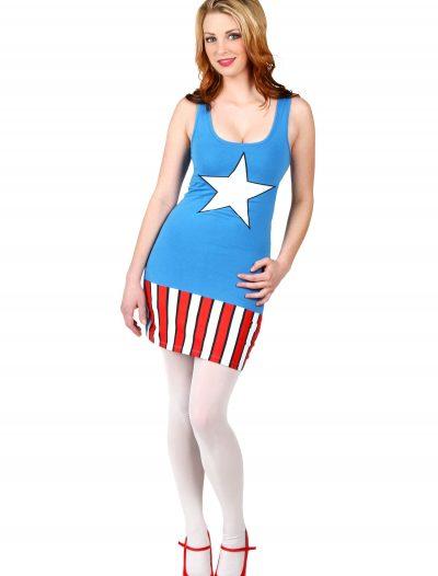 Womens I Am Captain America Tunic Tank buy now