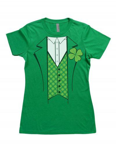 Womens Leprechaun Costume T-Shirt buy now