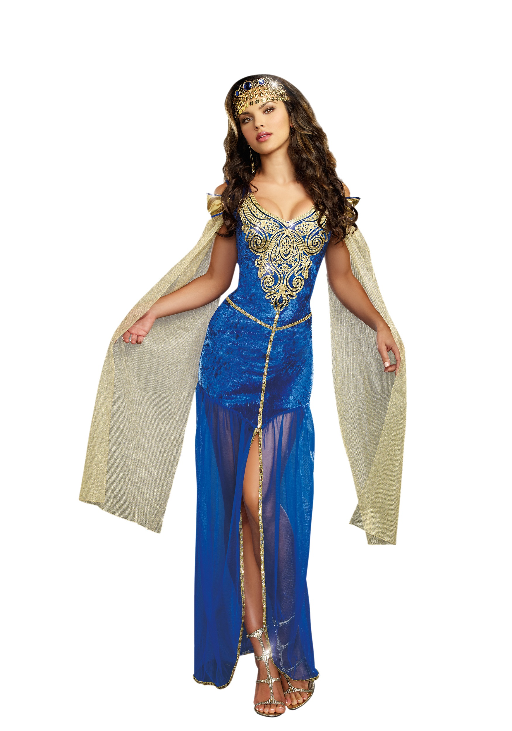 Sexy medieval warrior costume for women