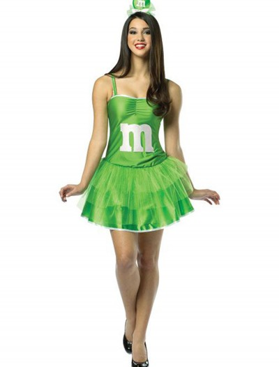 Womens M&M Green Party Dress buy now