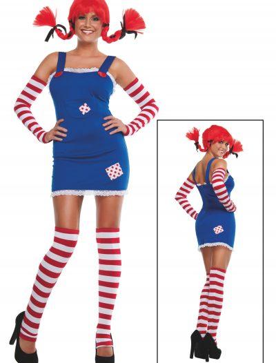 Womens Pippi Longstocking Costume buy now