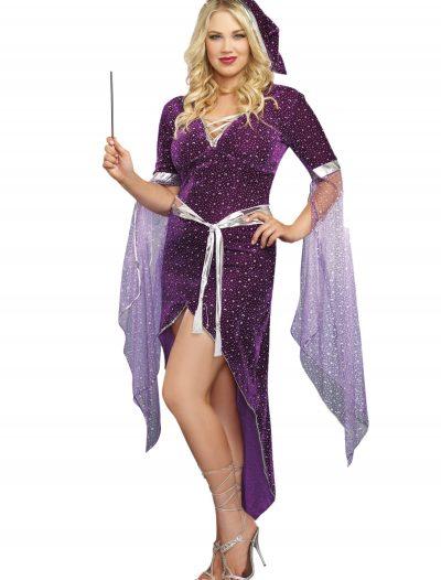 Women's Plus Size Sorcery & Seduction Costume buy now