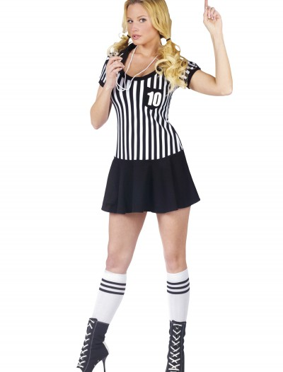 Womens Racy Referee Costume buy now