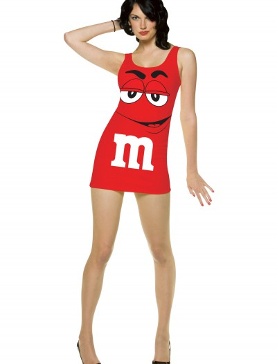 Womens Red M&M Costume buy now