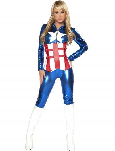 Womens Sexy American Hero Costume buy now