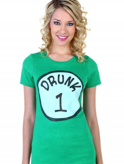 Womens St. Patricks Day Drunk 1 T-Shirt buy now