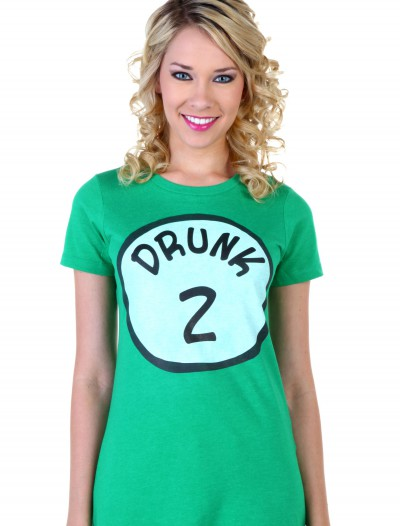 Womens St. Patrick's Day Drunk 2 T-Shirt buy now