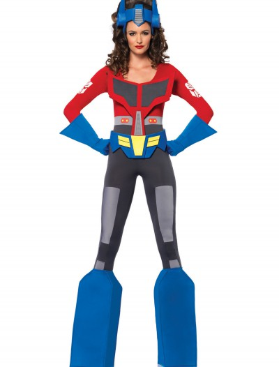 Womens Transformers Optimus Prime Costume buy now