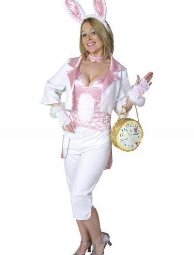 Womens White Rabbit Costume buy now